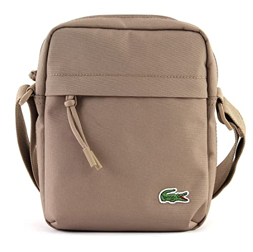 1548f82dafa52a LACOSTE Neocroc Vertical Camera Bag Kraft: Amazon.it: Scarpe e borse