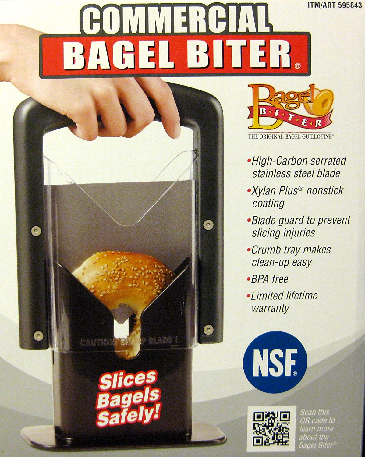Bagel Biter High-Carbon Serrated Stainless Steel Blade