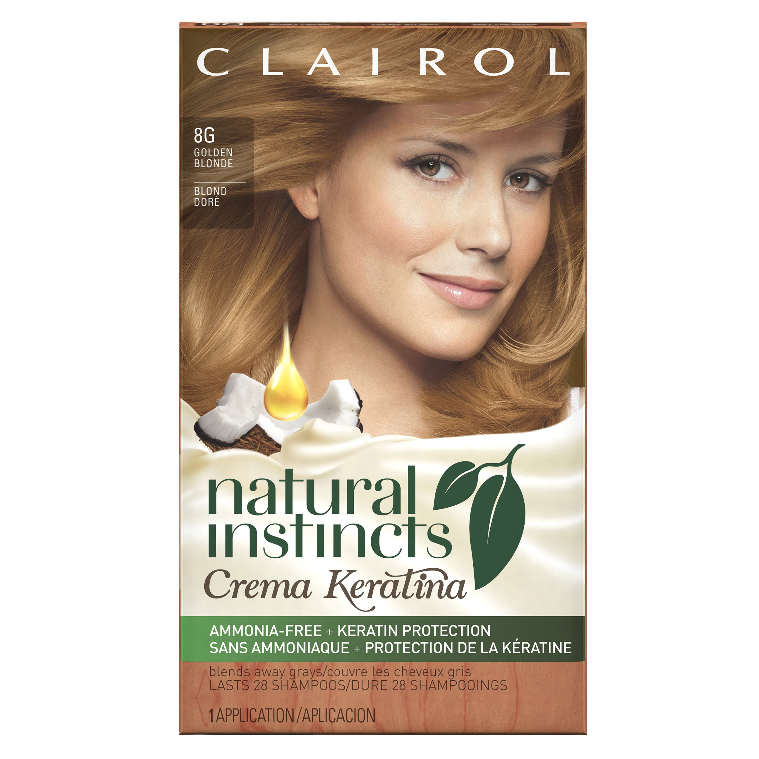 Clairol Natural Instincts Brass Free Semi Permanent Hair Color
