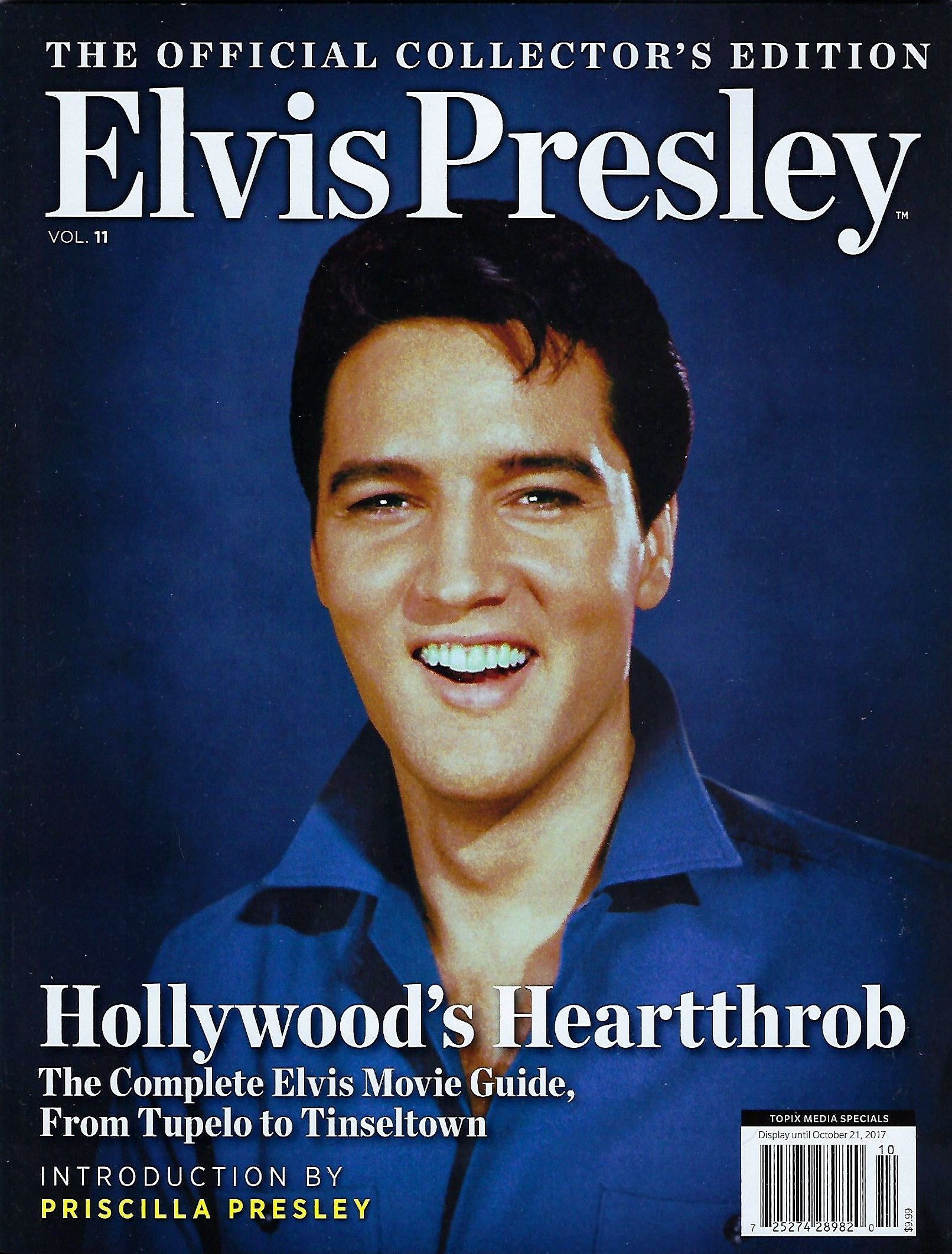 Download Elvis Presley Official Collectors Edition Magazine Vol 11, Hollywood's Heartthrob 2017 98 pages pdf epub