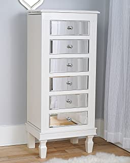 Hives And Honey Hives U0026 Honey Ava Jewelry Armoire, White