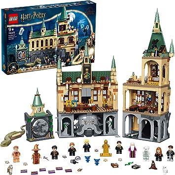 Lego 76389 Harry Potter Schloss Hogwarts Kammer Des Schreckens Spielzeug Set Mit Voldemort Als Goldene Minifigur Und Der Großen Halle Amazon De Spielzeug