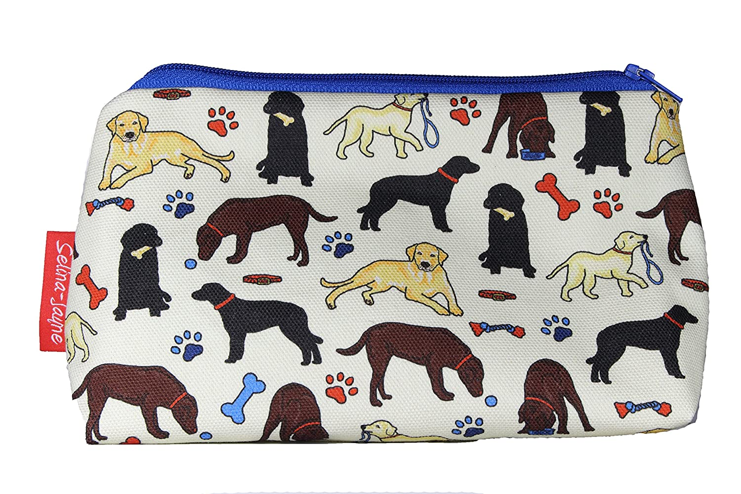 Selina-Jayne Labrador Dogs Limited Edition Designer Toiletry Bag