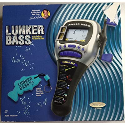Radica Lunker Bass Fishing Handheld Game: Toys & Games