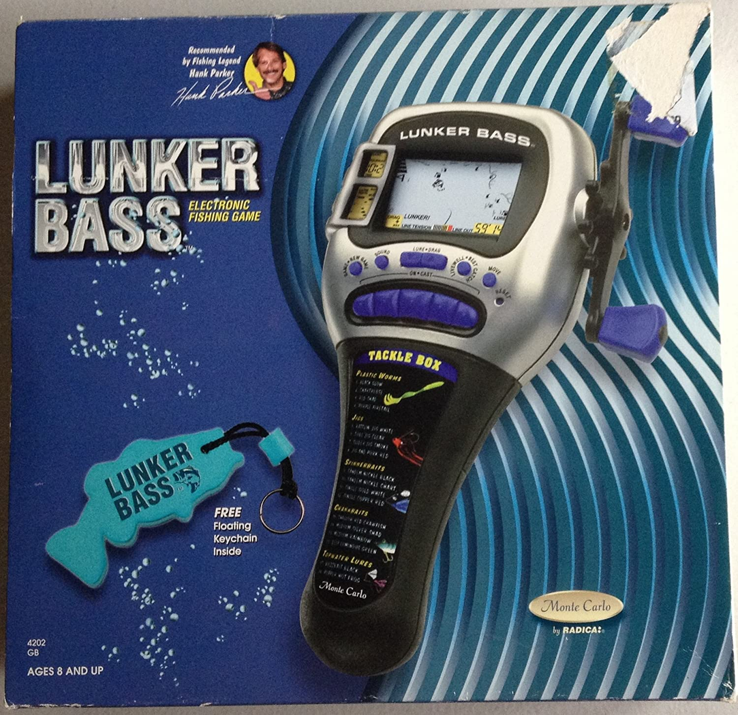 Radica Lunker Bass Fishing Handheld Game Radica Games