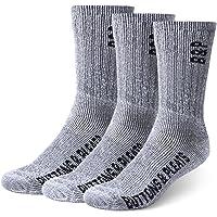 3-Ps Buttons & Pleats Premium Merino Wool Hiking Socks
