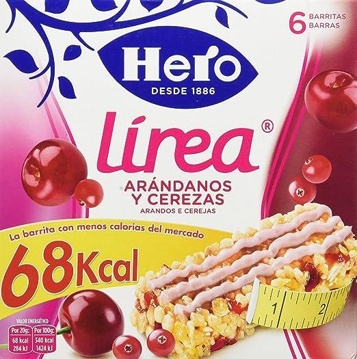 Hero muesly linea arandanos cereza 6x20g - [pack de 5]: Amazon.es: Alimentación y bebidas