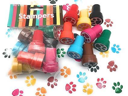 Amazon.com: 48 piezas Paw Stampers cumpleaños fiesta ...