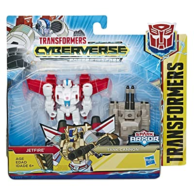 Transformers Tra Cyberverse Spark Armor JETFIRE: Toys & Games