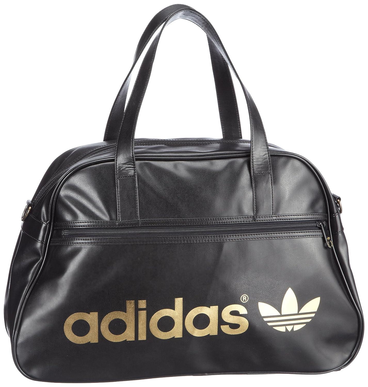 adidas Originals AC HOLDALL W68182 Unisex Adult 49 x 31 x 17 CM (W x H x D)  Black Schwarz (BLACK METALLIC GOLD) Size 49x31x17 cm (B x H x T)   Amazon.co.uk  ... 6aa6cacc01646