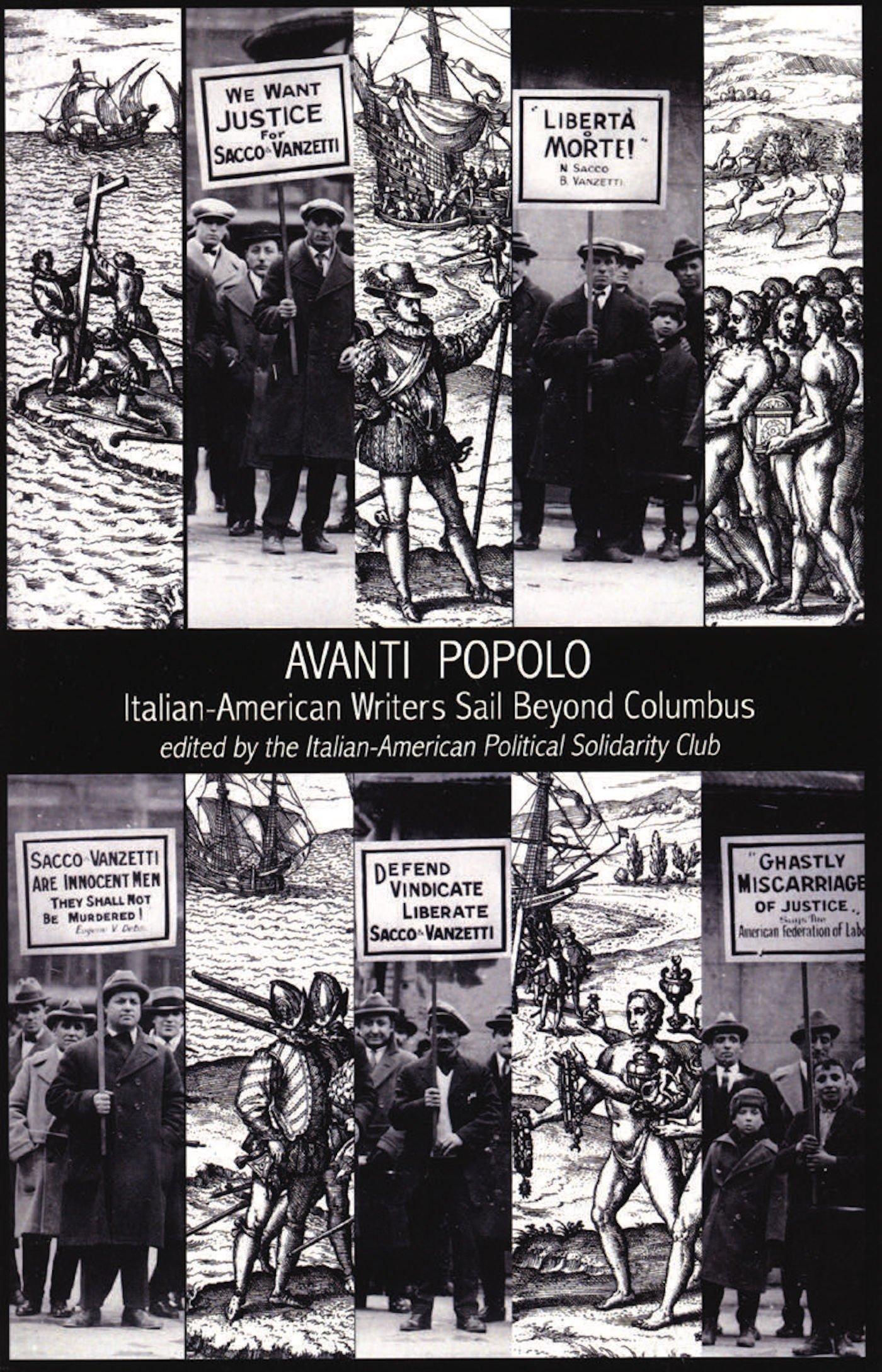 Read Online Avanti Popolo: Italian-American Writers Sail Beyond Columbus ebook