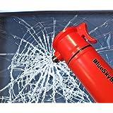Orange 6-in-1 Emergency Tool Auto Car Safety Escape Hammer Seat Belt Cutter Flashing Beacon Alarm Siren LED Flashlight by BlueSkyBos