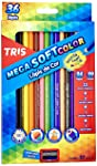Lápis Cor, Tris, 7897476680255, Multicor, pacote de 36
