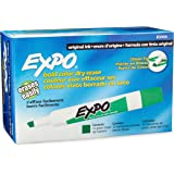 EXPO Original Dry Erase Markers, Chisel Tip, Green, 12-Count