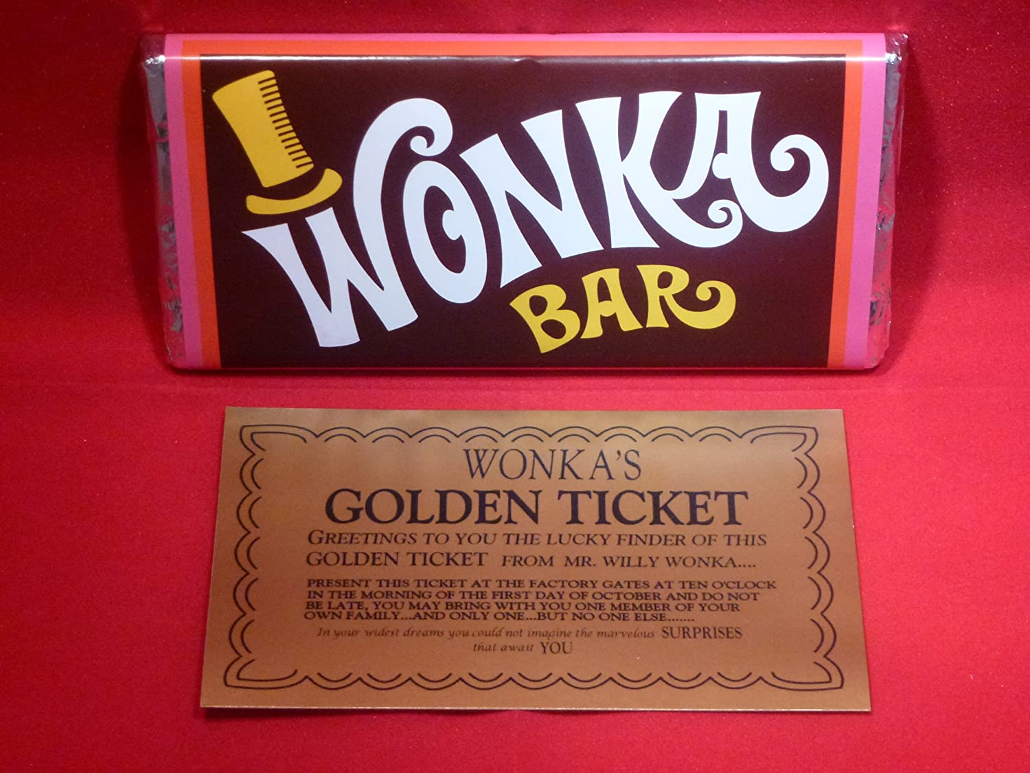 Probably The Best Willy Wonka Chocolate Bar On Amazon With Golden Ticket