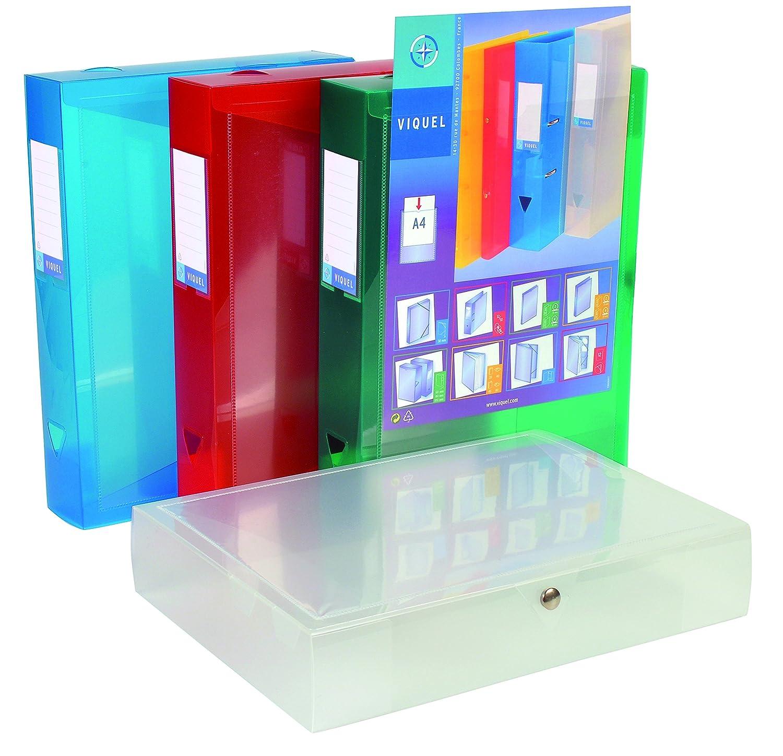 Viquel Class Docs Propyglass – Juego de paquetes 8 paquetes de de índice personalizable (polipropileno) ancho de 60 mm, colores surtidos 31d405