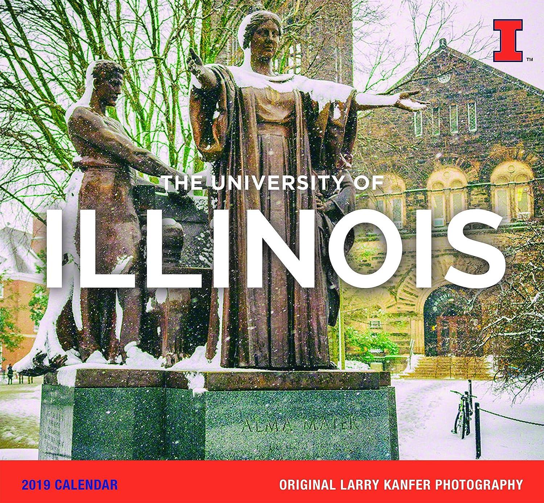 University Of Illinois Calendar 2019 Amazon.: 2019 University of Illinois Calendar by Larry Kanfer