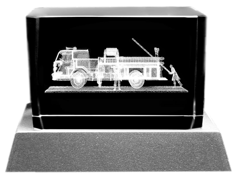 Schlummerlicht24 Led Feuerwehrmann Feuerwehr-Wagen - Feuerwehr-Auto ...