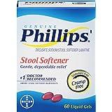 Phillips' Stool Softener Liquid Gels, 60 Count