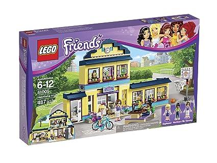 Amazoncom Lego Friends Heartlake High 41005 Toys Games