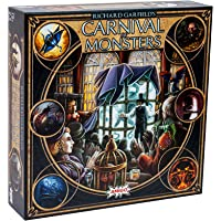 Richard Garfield's Carnival of Monsters Deck Building & Set Collecting Board & Card Game — Explore Magical Lands…