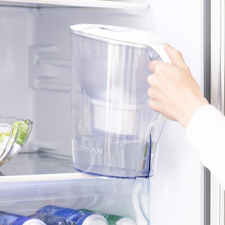 Wazman Cool Water Filter Jug and Cartridge BPA Free 3.5L Capacity Water Filter Jug