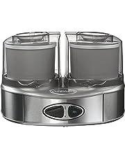 Cuisinart ICE40BCE Sorbetière Machine à glace Duo, 2 bols accumulateurs de froid (2x1L)