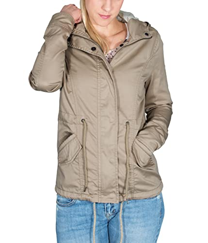 BetterStylz - Chaqueta - Blusa - para mujer arena xx-large