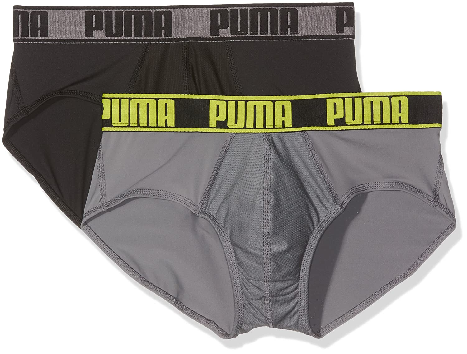 Puma Herren Basic Brief Men Slip 2er Pack