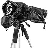 WOLFTEETH 5D3 5D2 70D 6D D90 D7100 カメラレインカバー ブラック プロフェッショナル 雨の日撮影用品 埃防止 水濡れ防止 一眼レフ対応 7306