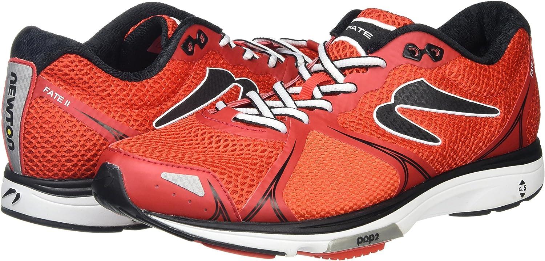 Newton Running Fate II Mens Running Shoe, Zapatillas Hombre, Rojo (Red/Black), 42 EU: Amazon.es: Zapatos y complementos