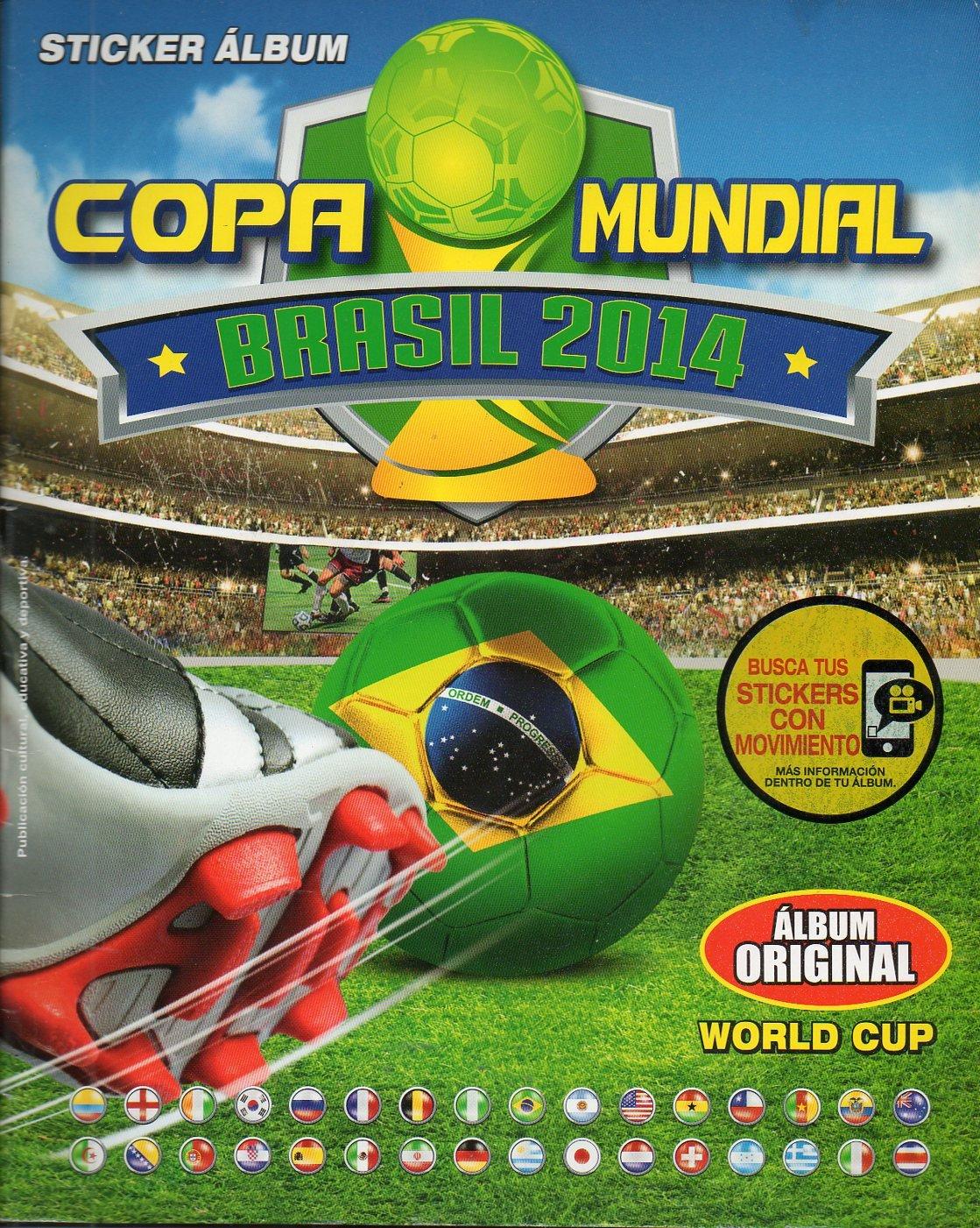 STICKER PERUVIAN ALBUM FUTBOL COPA MUNDIAL BRASIL 2014 FOOTBALL FIFA WORLD CUP BRASIL 2014 NAVARRETE COMPLETE: Amazon.es: Navarrete: Libros