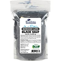 Hawaiian Black Lava Sea Salt - Fine Grain, 2 lb (907 g)