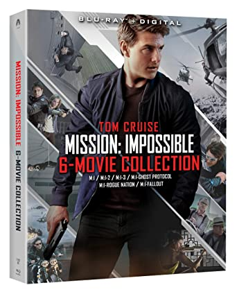 amazon com mission impossible 6 movie collection blu ray tom