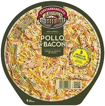 Casa Tarradellas Pizza Fresca Rústica de Pollo - 410 gr ...