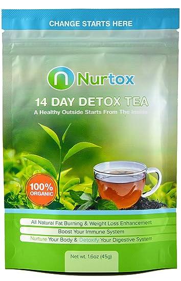 Nurtox: The Best Detox Tea on Amazon- Organic, 100% Natural Herbal Tea