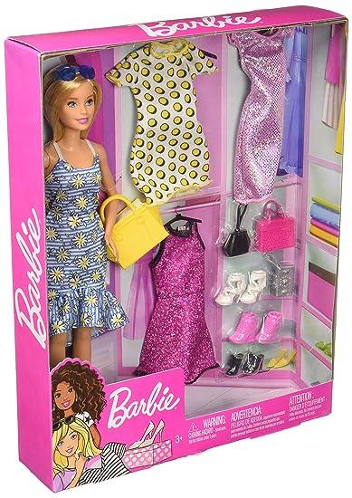 88c822188 Boneca E Roupa Mattel Barbie Loira: Amazon.com.br: Brinquedos e Jogos