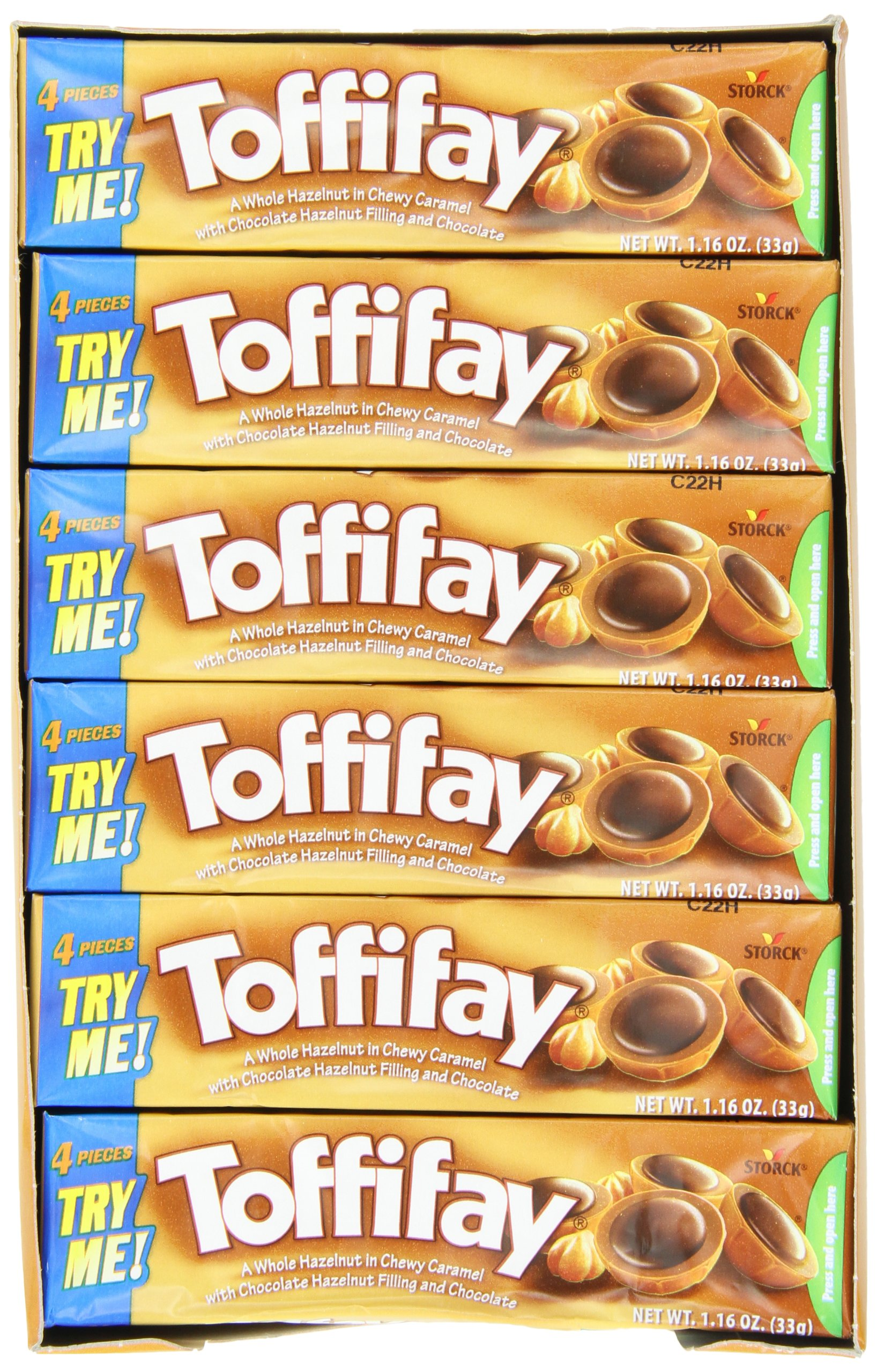 Storck Toffifay, 1.16-Ounce (Pack of 24)