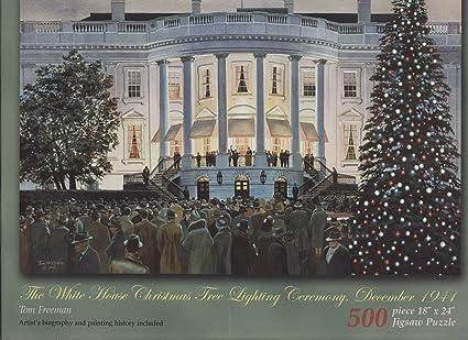 the white house christmas tree lighting ceremony december 1941 - White House Christmas Tree Lighting