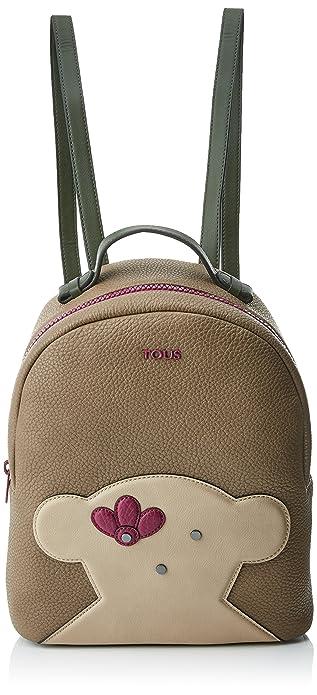 Tous Patch Greet, Bolso mochila para Mujer, Varios colores (Multi/Piedra)