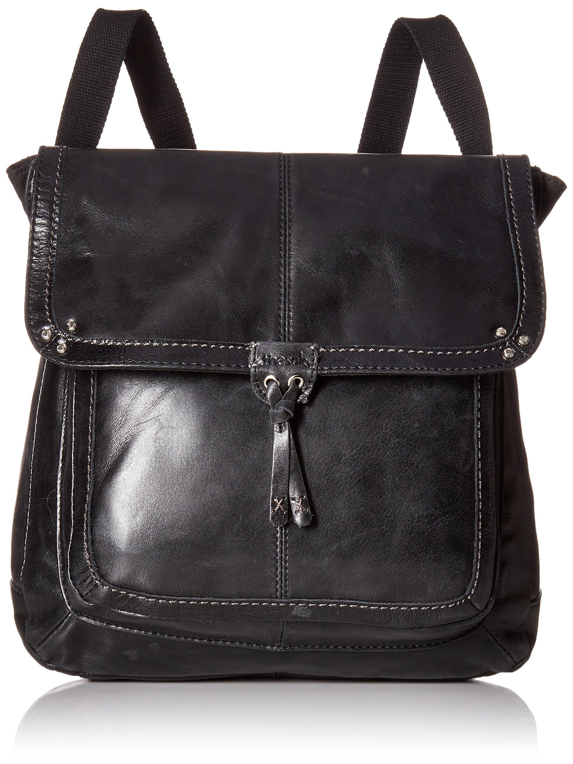 The SAK Ventura Convertible Backpack,Black,one size