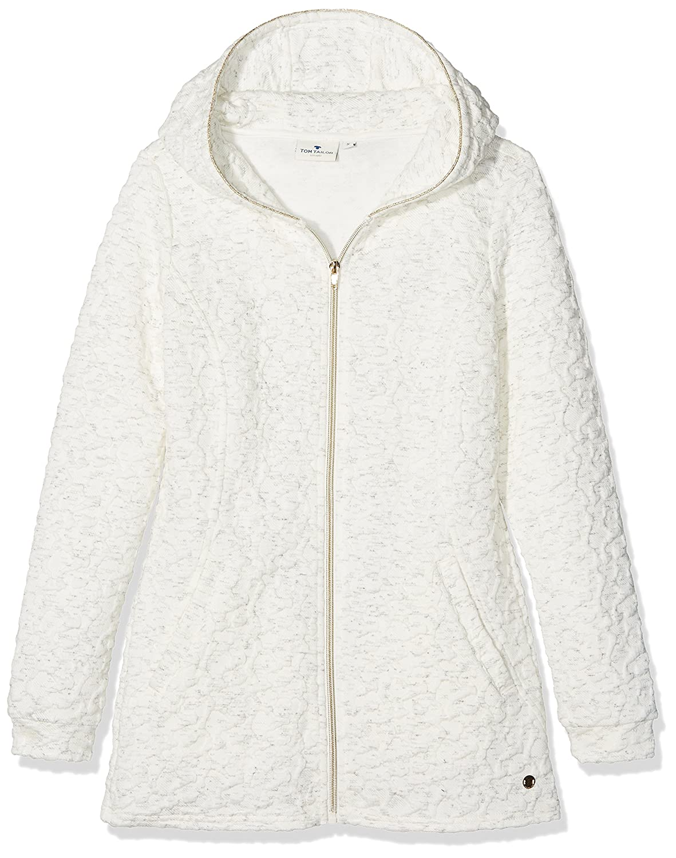 TOM TAILOR Kids Girl's Long Sweatjacket with Hood Sweatshirt 25314050040