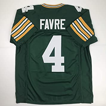outlet store 4fa56 2eae7 Unsigned Brett Favre Green Bay Green Custom Stitched Football Jersey Size  Men's XL New No Brands/Logos