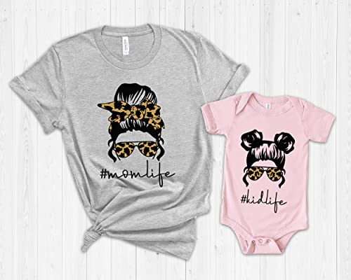 mothers day tee leopard funny mom shirt mom life tee mother/'s day gift Mama Leopard Circle unisex tshirt mom shirt gift for mom