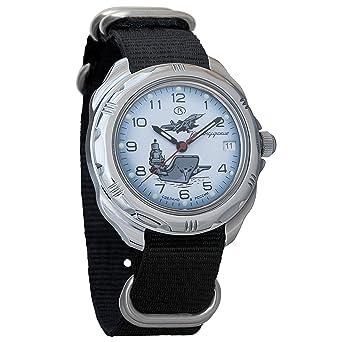 4bfbcbe46091 Vostok Komandirskie 2414 211982NB Russian Military Mechanical Watch