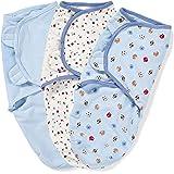 Summer Infant SwaddleMe Adjustable Infant Wrap, Sports, 3 Count (Discontinued by Manufacturer)