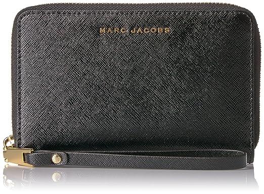 70e22a959df9 Amazon.com  Marc Jacobs Saffiano Bicolor Zip Phone Wristlet