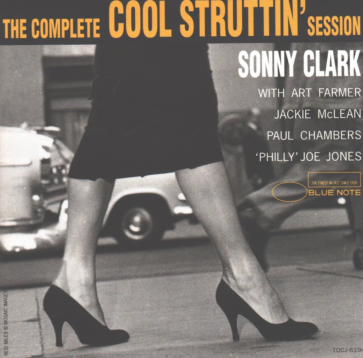 Sonny Clark, Art Farmer, Jackie McLean, Paul Chambers, Philly Joe Jones -  The Complete Cool Struttin' Session (Japanese Import) - Amazon.com Music
