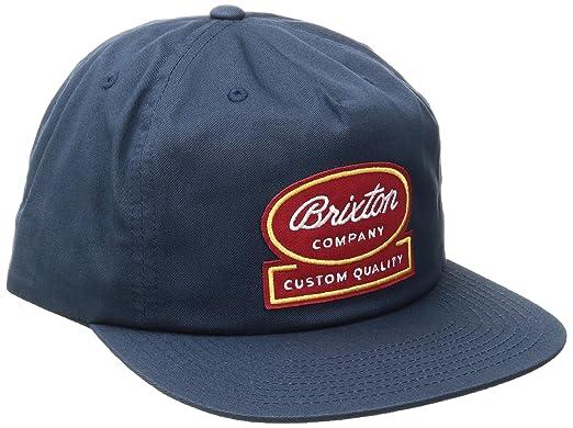 Gorra Dale Snapback by Brixton capbaseball cap (talla única - azul oscuro): Amazon.es: Ropa y accesorios