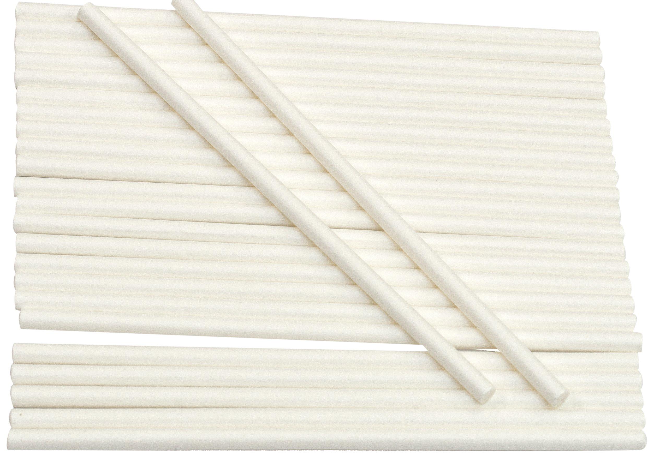 Cybrtrayd Paper Lollipop Sticks, 6-Inch by 5/32-Inch, Case of 10000